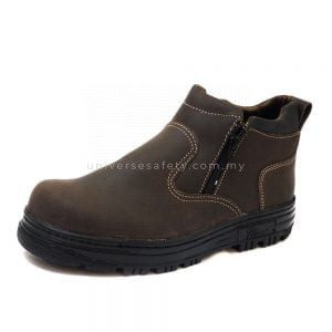 Safety Boots Malaysia Executive Series SF 843 Brown